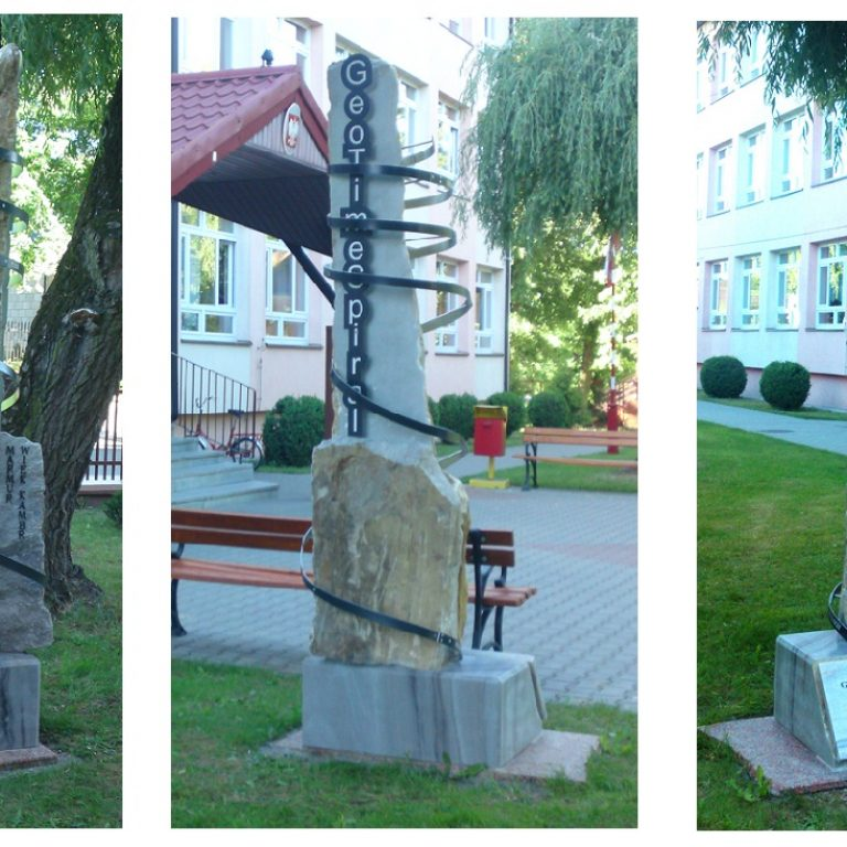 Geotimespiral Pomnik Marmurowy